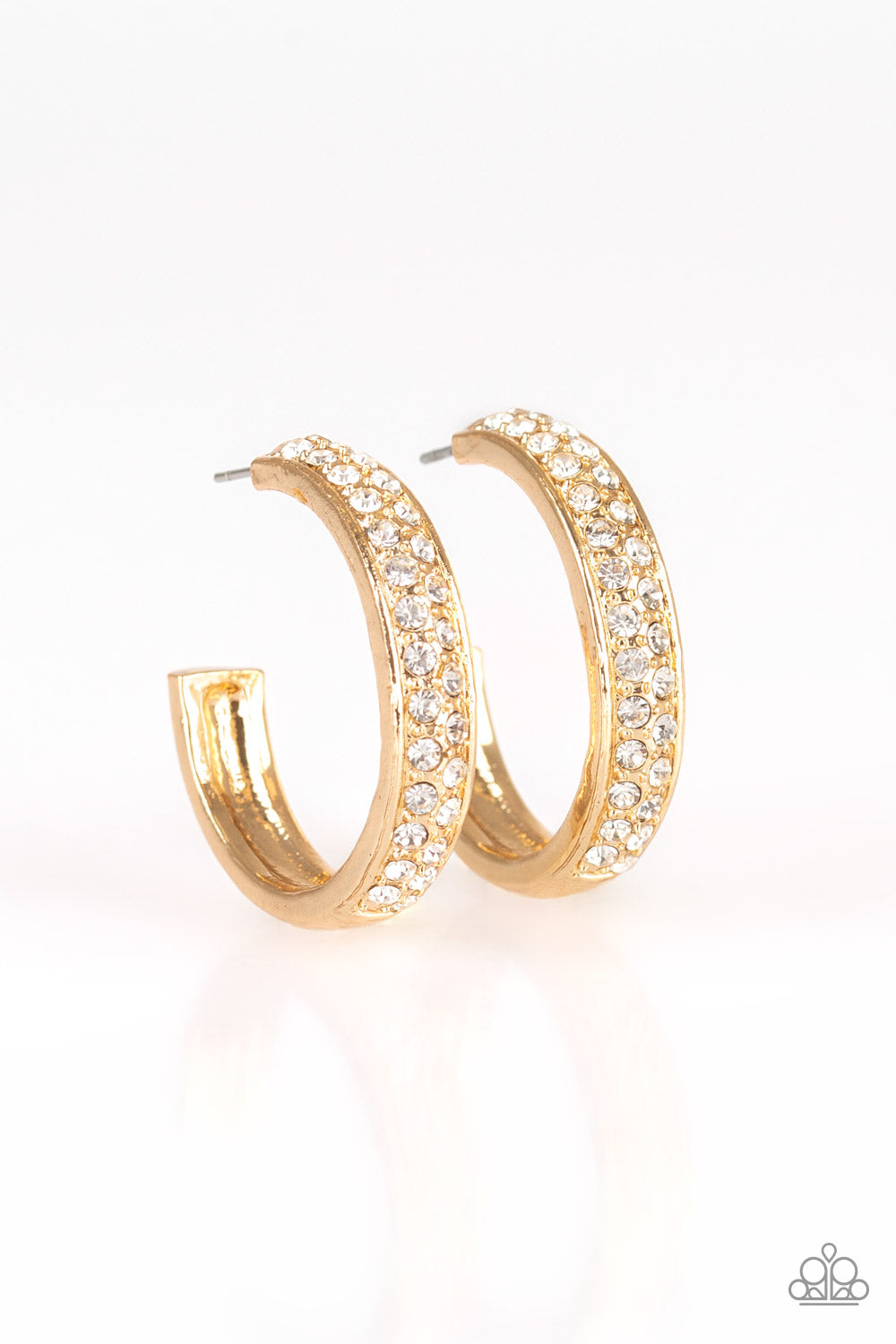 Cash Flow - Gold Earring