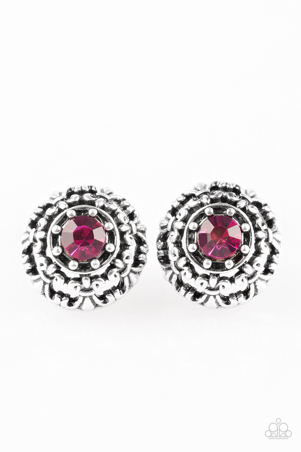 Courtly Courtliness Pink Earring