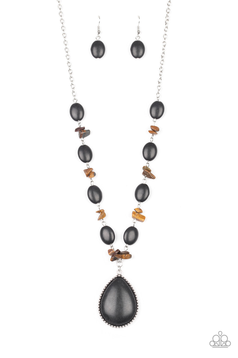 Desert Diva - Black Necklace