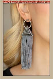 Oh My Giza Silver Post earring