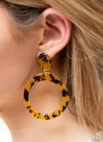 Fish out of Water Tortoise shell Earrings