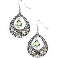 All Girl Glow Green Earring