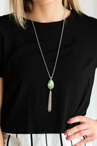 Elite Shine Green Necklace