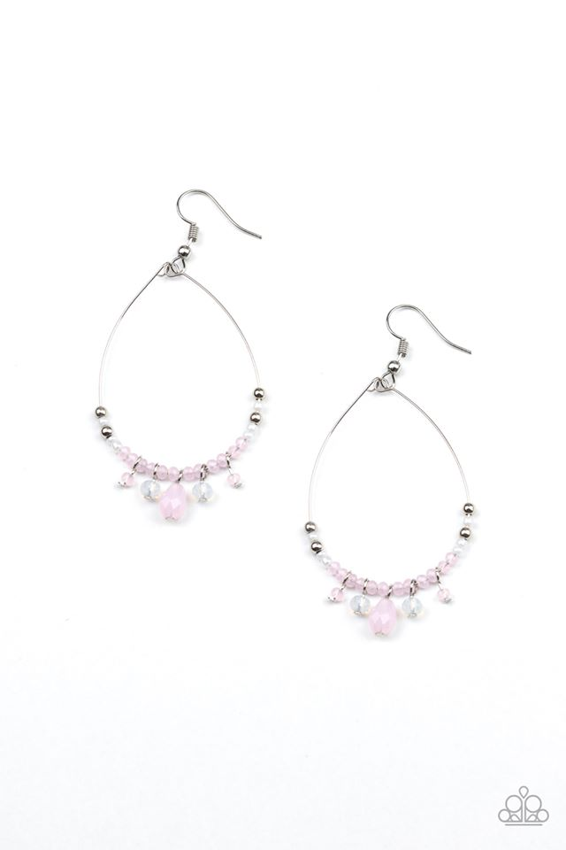 Exquisitely Ethereal Pink Earring
