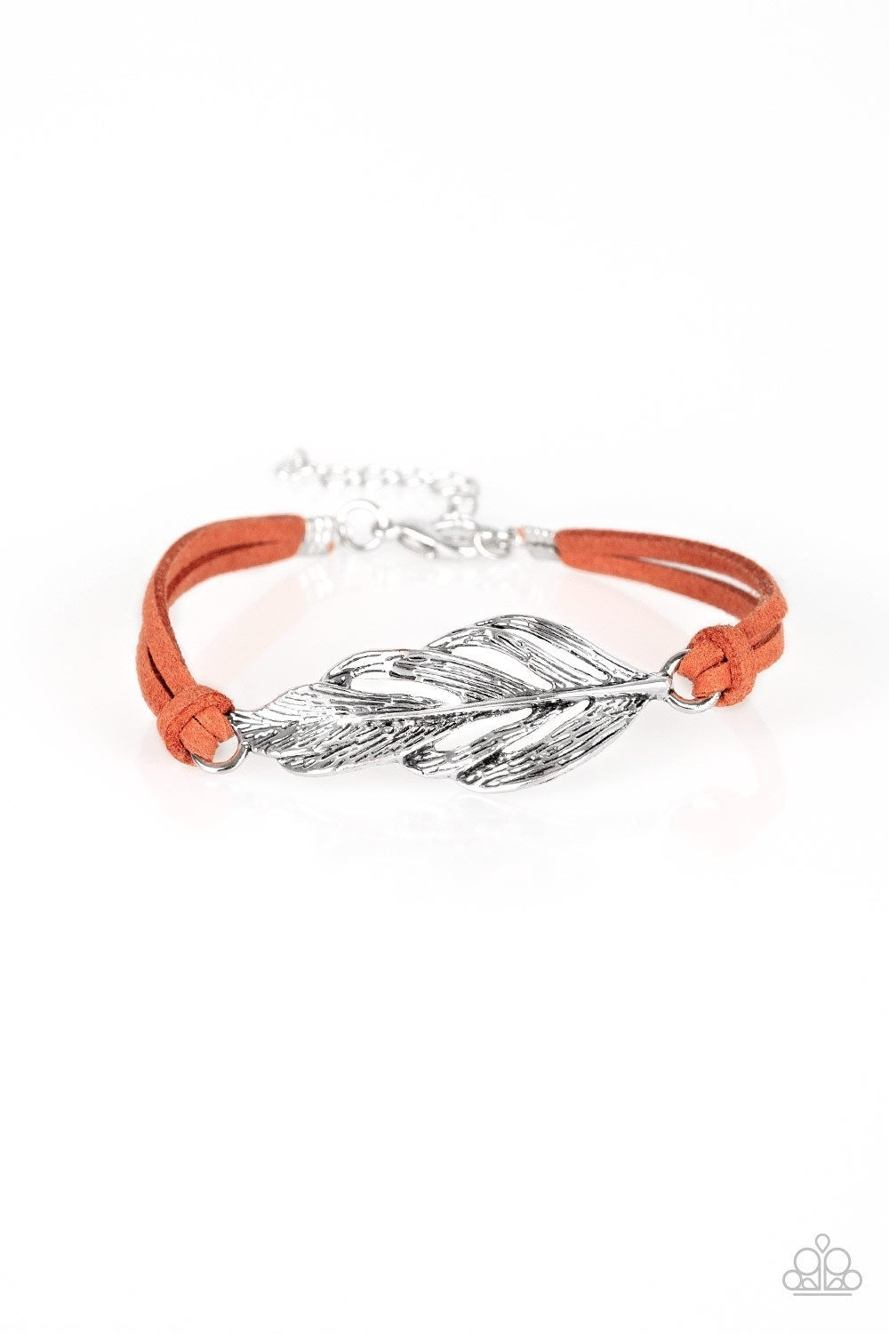 Faster Than FLIGHT Orange Bracelet