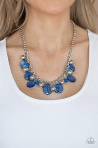 Gossip Glam - Blue Necklace