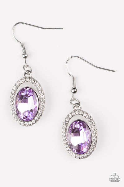 Imperial SHINE -ness Purple Earring
