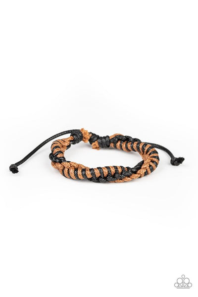 Outdoor Expedition Brown Urban Bracelet