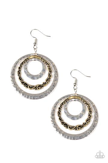 Out of Control Shimmer Multi Earring