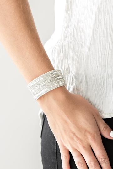 Rebel Radiance White Urban Bracelet