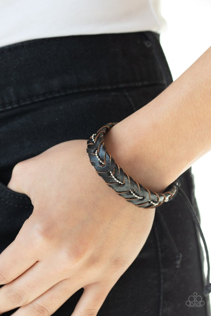 Rugged Rancher Black Urban Bracelet