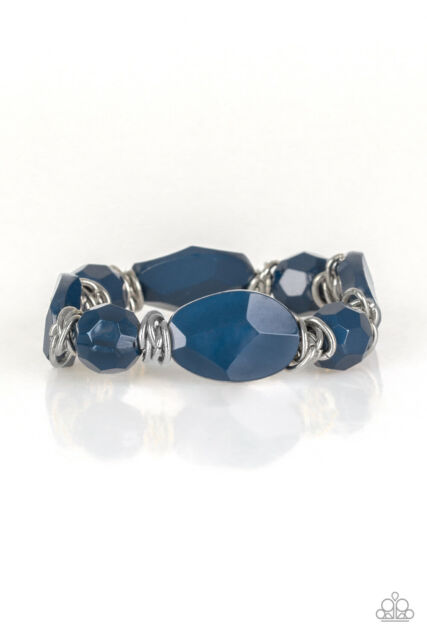 Savor The Flavor Blue Bracelet