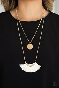 Tassel Temptation Gold Necklace