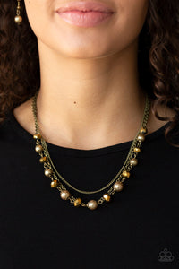 Tour de Demure - Brass Necklaces