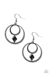 Tucson Tribute Black Earring