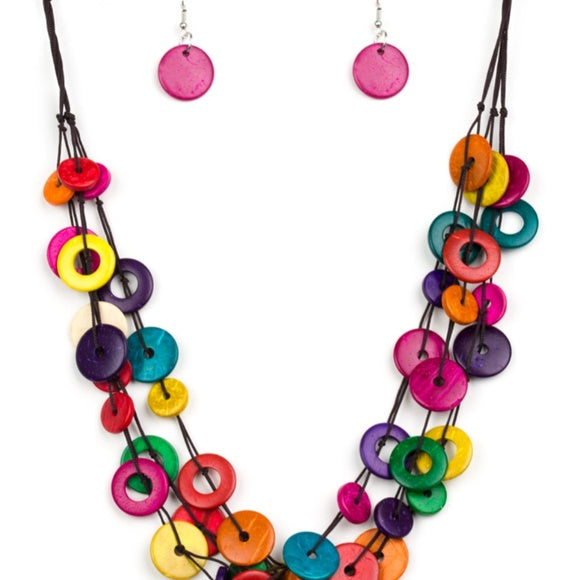Wonderfully Walla Walla Multi Necklace