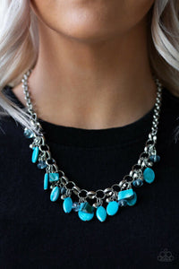 I want to Sea the World Blue Necklace