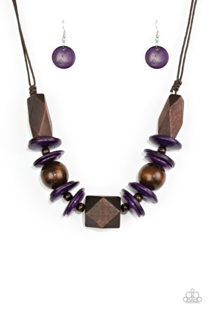 Pacific Paradise Necklace Purple