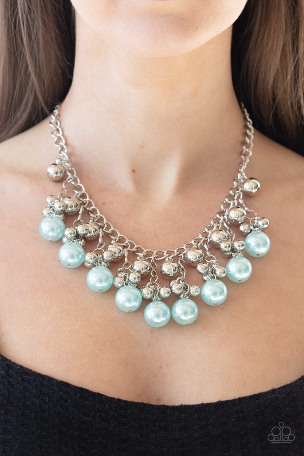 Pearl Appraisal Blue Necklace