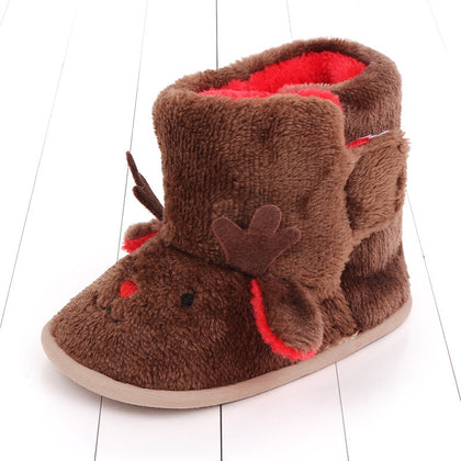 Christmas winter warm baby boots