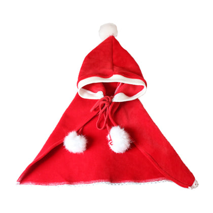 Cat christmas clothes pet cape