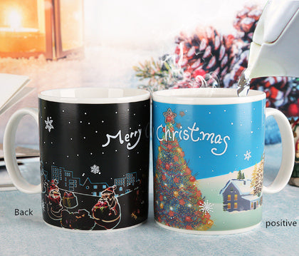 Christmas color changing cup