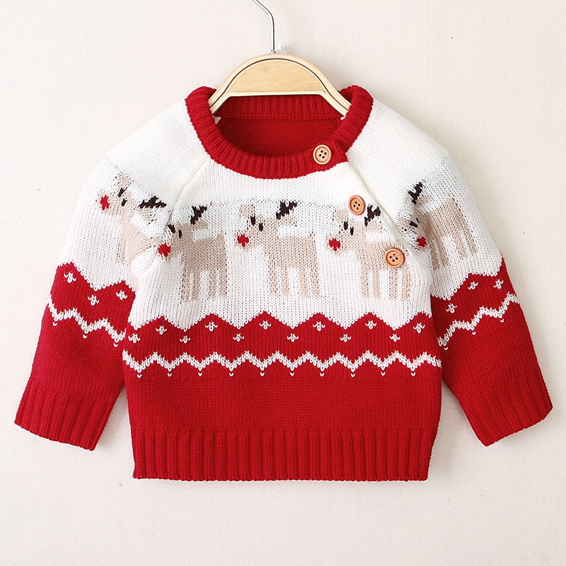 Unisex Christmas elk sweater