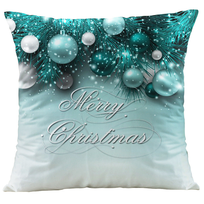 Digital printing Christmas pillowcase