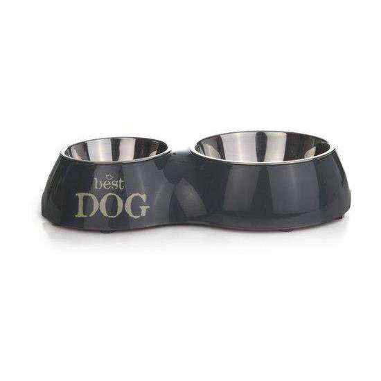 Beeztees Best Dog - Dinerset Dog - Gray - 31x17,5 cm