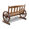Gardeon Wooden Wagon Wheel Chair