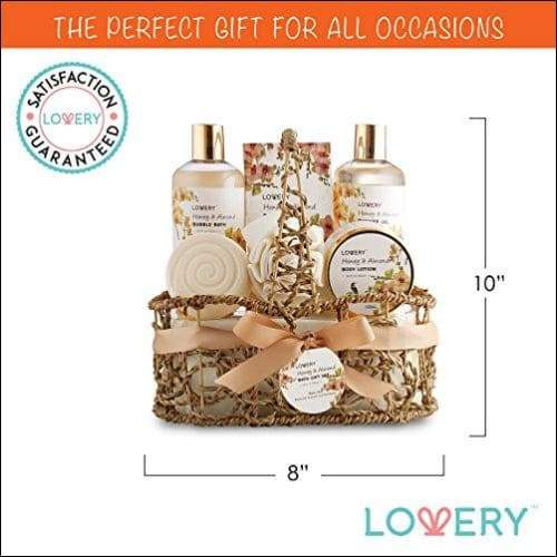 Honey & Almond 7PC Spa Gift Basket