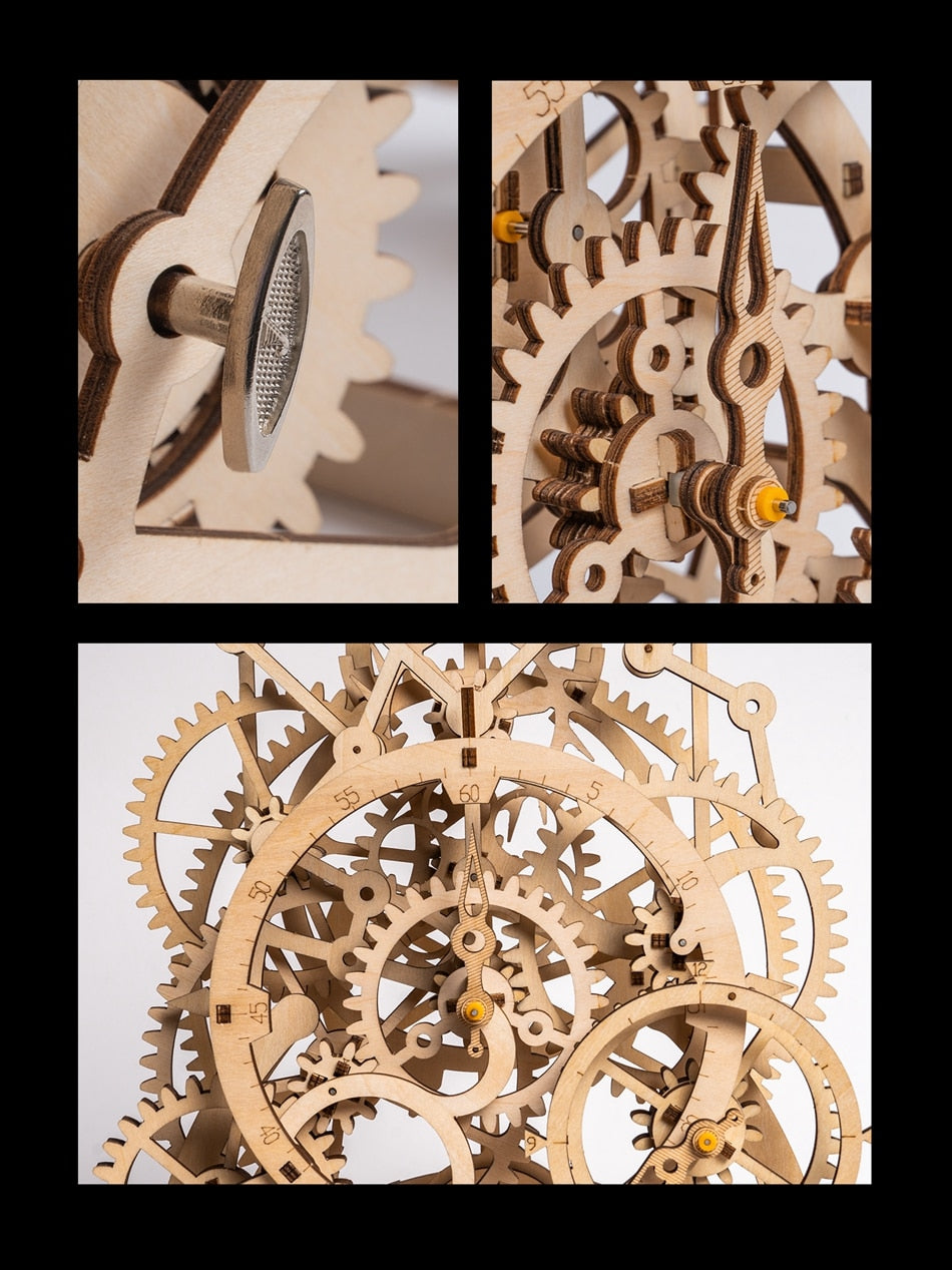 Model Building Kits Laser Cutting 3D Wooden