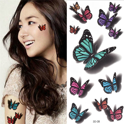 Temporary Tattoos Sticker for Women Body Art Tattoo Sticker-Sastosales