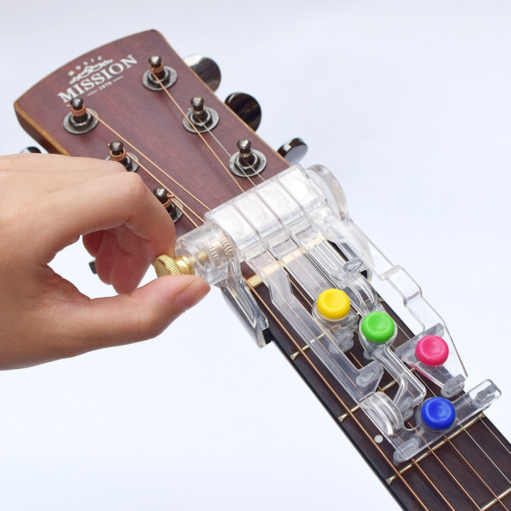 Acoustic Guitar Chord Teaching Tool