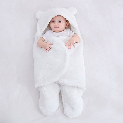 Fluffy Baby Sleeping Bag