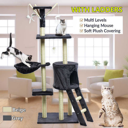 140cm Cat Scratching Post-Sastosales