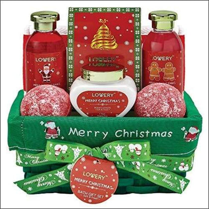 Strawberry & Sandalwood Christmas Spa Gift Basket