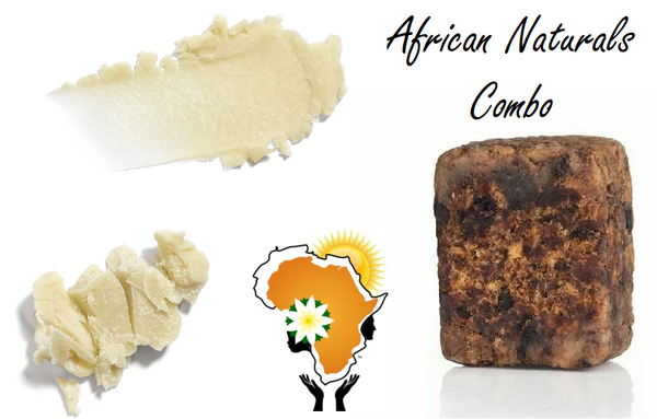 Black Soap Combo Pack (PREMIUM QUALITY) Pair your Black Soap with a Shea Butter. One cant go without the other. A must have when it comes to the best African Natural Body Care. 100% ORGANIC solution to CARE for YOUR SKIN naturally. Original African BODY CARE online. South Florida, Miami, Ft Lauderdale, Palm Beach, USA