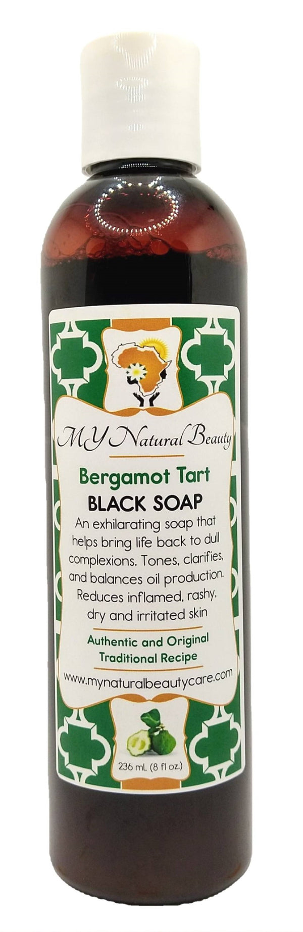 Buy REAL (NATURAL) BLACK SOAP from AFRICA (with BERGAMOT) An exhilarating burst of tarty sweet bergamot, lemongrass, and lime. MY Natural Beauty Products are made by traditional hand blending from all natural ingredients and healing herbs. BODY & SKIN CARE - Buy Liquid Black Soap Online So Florida, Miami, Lauderdale