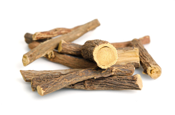 All Natural Oral Care ON THE GO! Licorice Root CHEW STICK. Using a Chew Stick in replacement of a toothbrush offers an array of benefits. You can brush, floss, and chew it all at the same time. (BAD BREATH, BLEEDING GUMS, CAVITIES). Original African BODY CARE online.