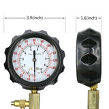 0-140 PSI Fuel Injection Pump Injector Tester Pressure Gauge Gasoline - The most popular products on Tiktok | GOWOW