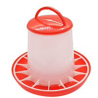1.5kg Reusable Plastic Food Feeder Chicken Chick Hen Poultry Lid Handle Farm Animal Feeding Watering Farm Animal Supplies - The most popular products on Tiktok | GOWOW