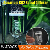 1 Pc Aquarium CO2 Diffuser Glass Tank Bubble Atomizer Reactor Solenoid Regulator Moss CO2 Atomizer for 60~300L Plants - The most popular products on Tiktok | GOWOW