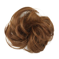 1 Pieces Synthetic Bun Extensions Curly Messy Bun Hair Scrunchies Elegant Chignons Wedding Hair Piece For Women And Kids - The most popular products on Tiktok | GOWOW