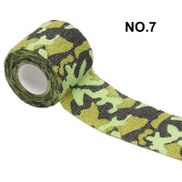 1 Roll 5*450cm Disposable Self-adhesive Flex Elastic Camouflage Bandage Tattoo Handle Grip Tube Wrap Elbow Stick Medical Tape - The most popular products on Tiktok | GOWOW