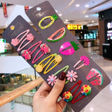 10/15 Pcs/Set Girls Cute Cartoon Animals Fruit 5 cm Hairpins Children Lovely Hair Clips Barrettes Headband Kids Hair Accessories - The most popular products on Tiktok | GOWOW