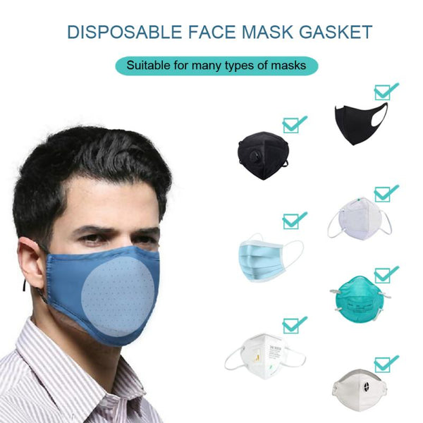 10/2Pcs Mouth Mask Disposable Cotton Mouth Face Masks Non-Woven Mask Anti-Dust Mask 3 Filter Activated Anti Pollution - The most popular products on Tiktok | GOWOW