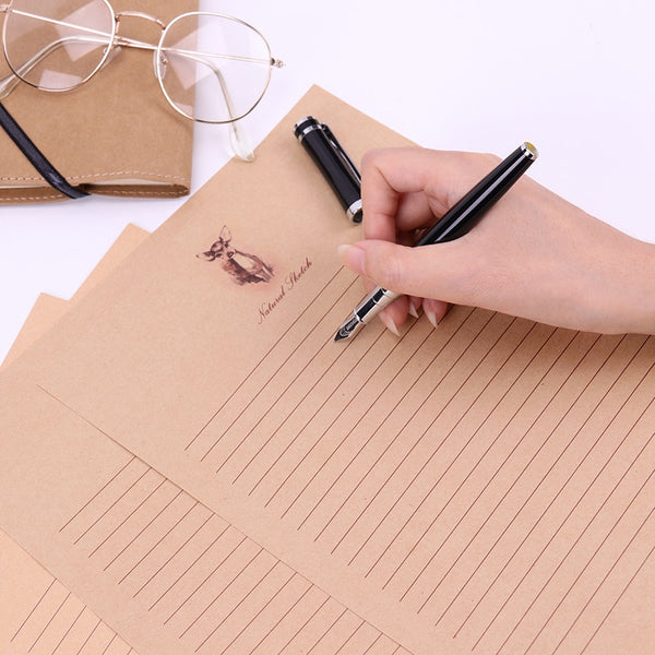 10 Sheets/Set New Letter Pad European Vintage Style Writing Paper Letter Good Quality Culture Office Stationery - The most popular products on Tiktok | GOWOW