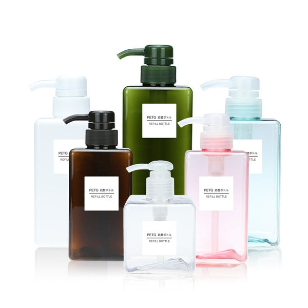 100-650ml Portable Travel Pump Soap Dispenser Bathroom Sink Shower Gel Shampoo Lotion Liquid Hand Soap Pump Bottle Container - The most popular products on Tiktok | GOWOW