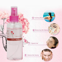 105ML Natural Rose Water Moisturizing Hydrating Spray Revitalizing Face Toner Skin Care Spray - The most popular products on Tiktok | GOWOW